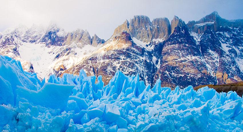 קרחונים בפארק טורס דל פיינה