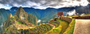 נוף אל הר מאצ'ו פיצ'ו