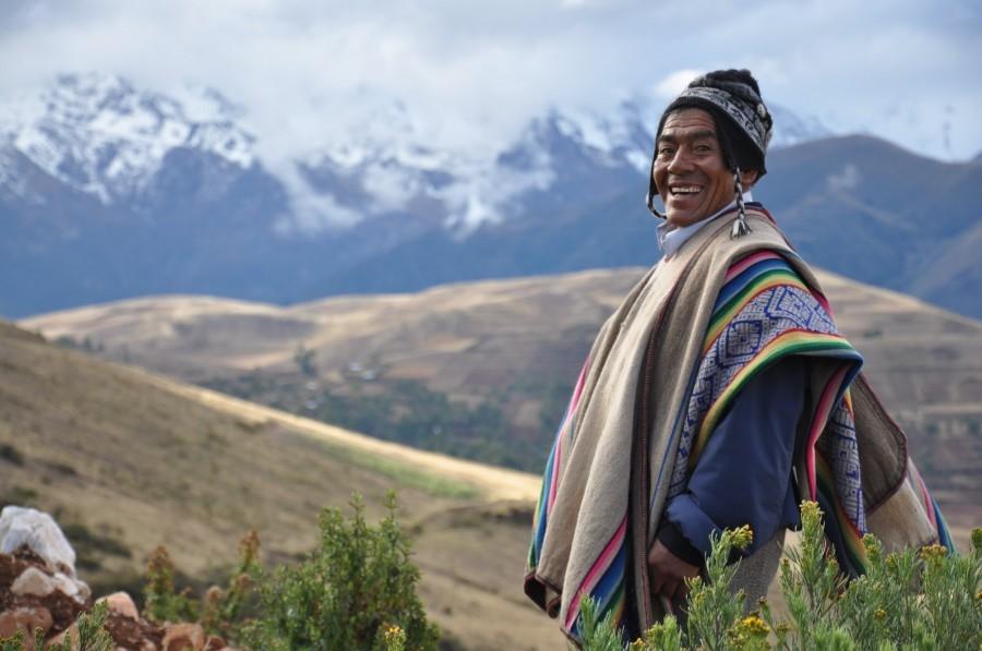 איש בטיול לפרו ואקוודור